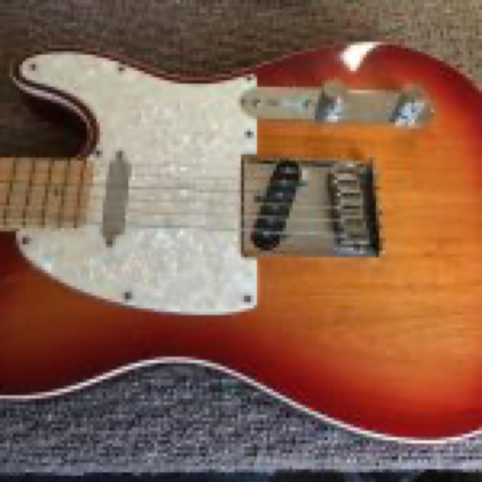 Sunburst Fender Telecaster