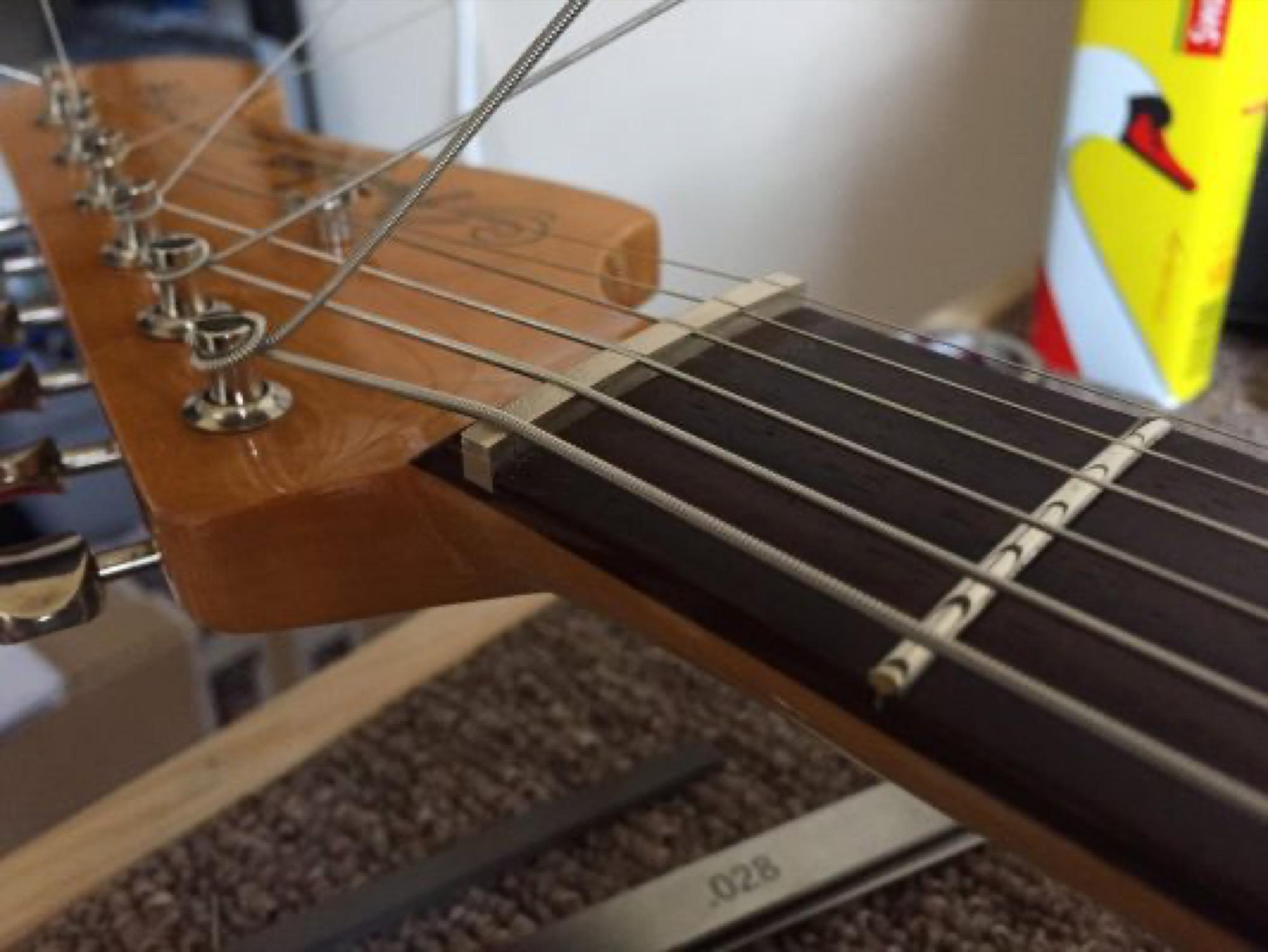 String positioning