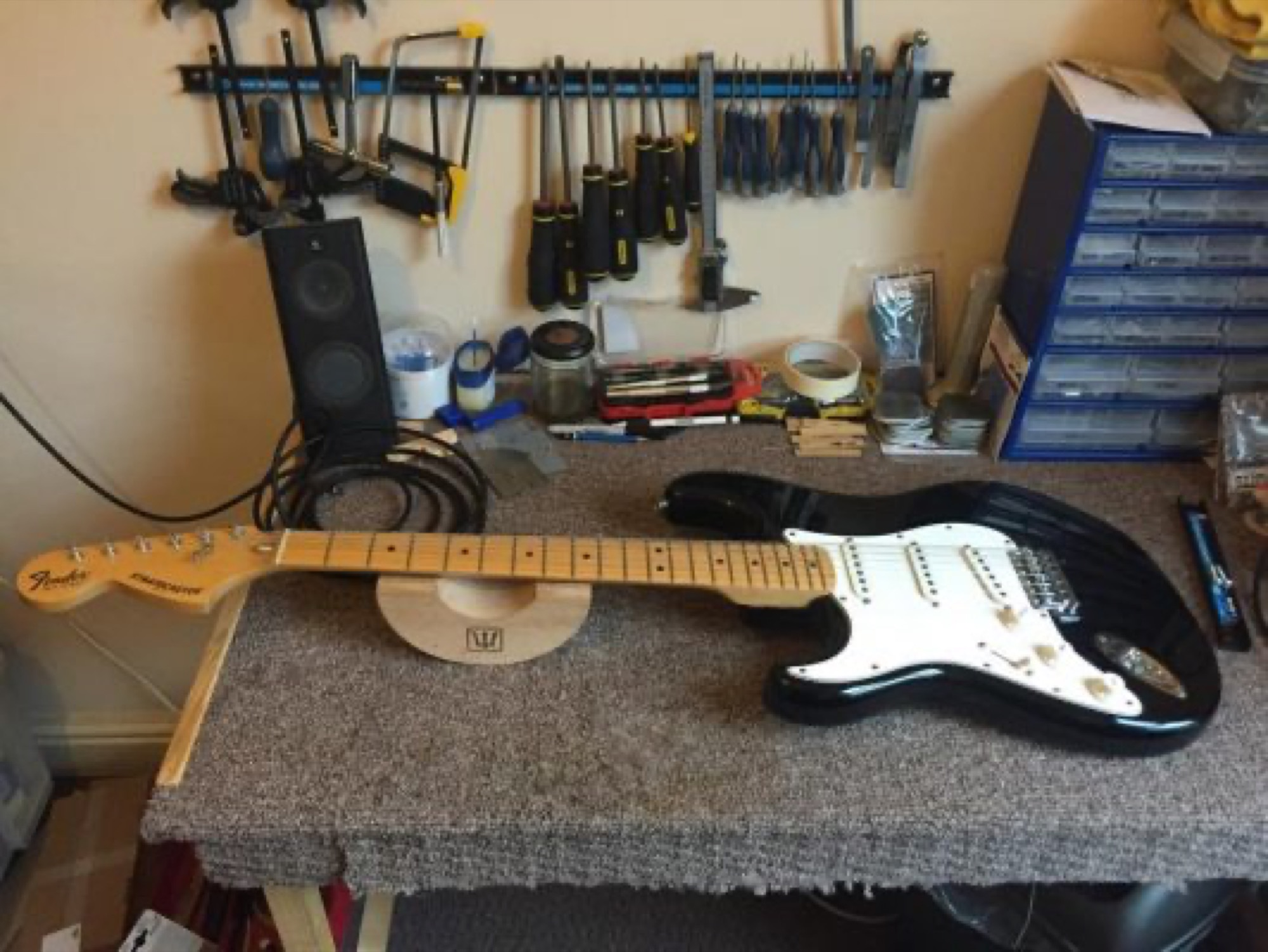 Finished Guitar