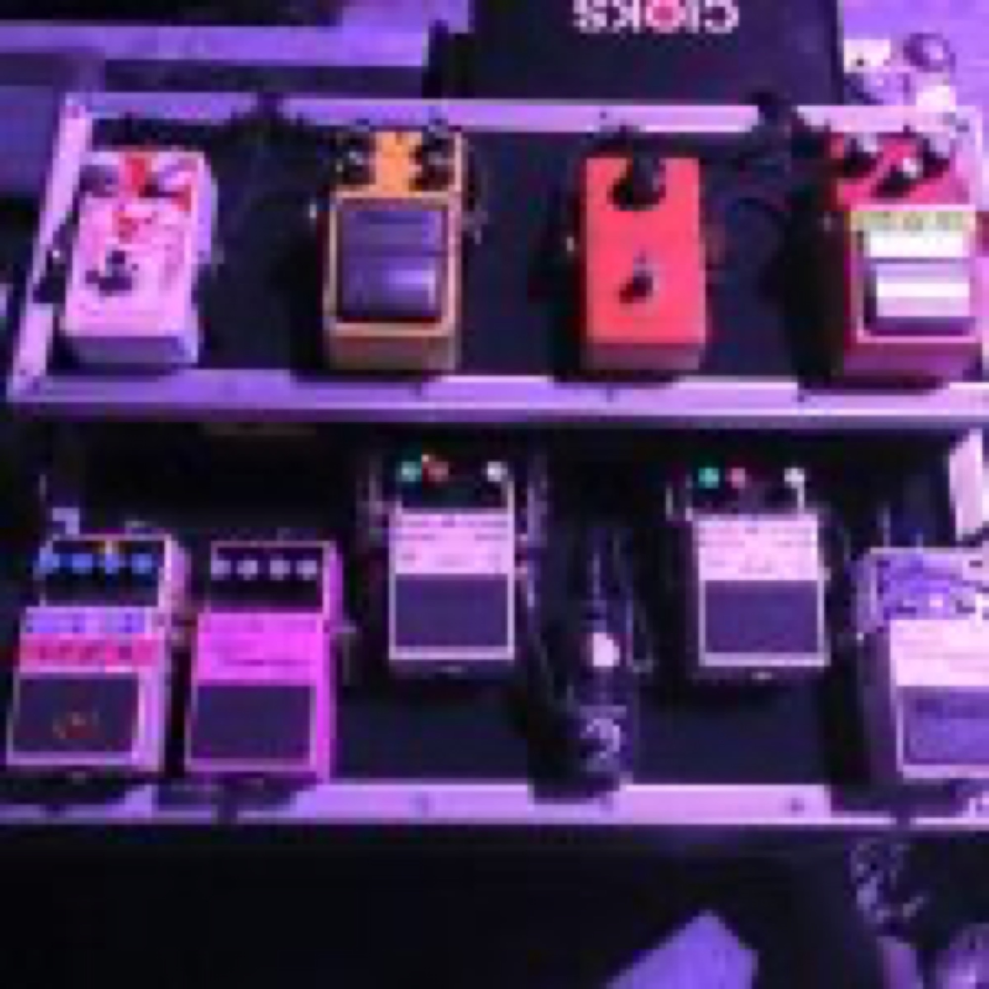 Wild Beasts Custom Pedal Board