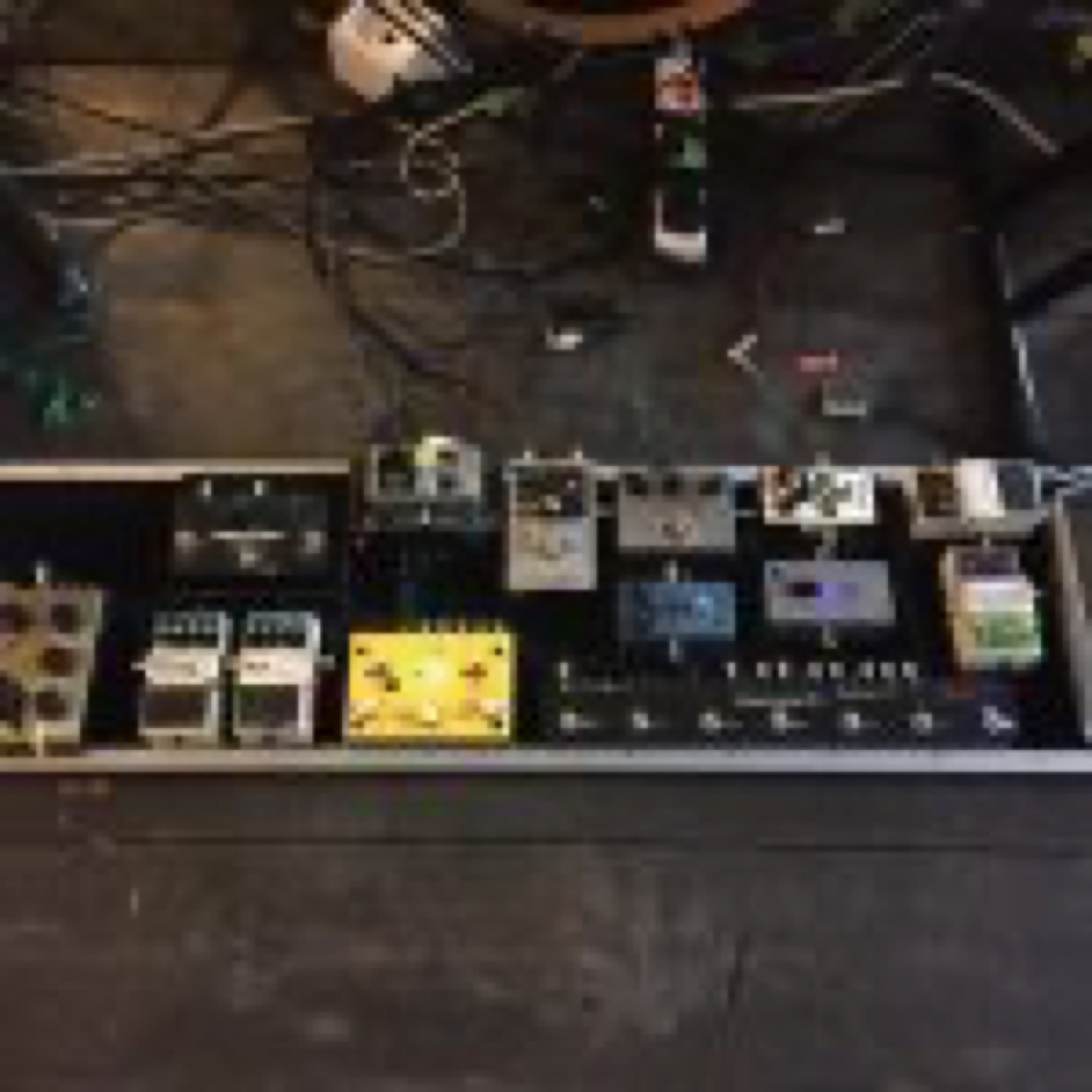 65daysofstatic Custom Pedal Board