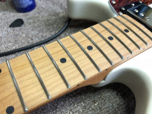 Crowned Frets