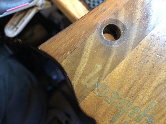 Split In The Headstock