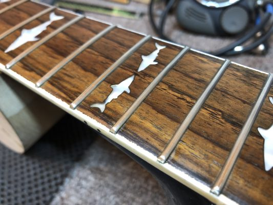 Oiled Fingerboard