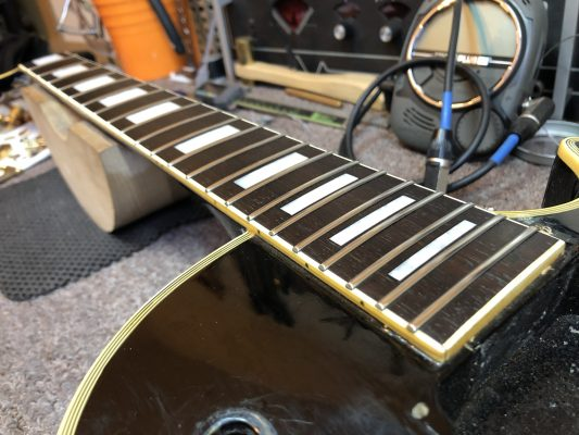 Cleaned And Conditioned Fretboard