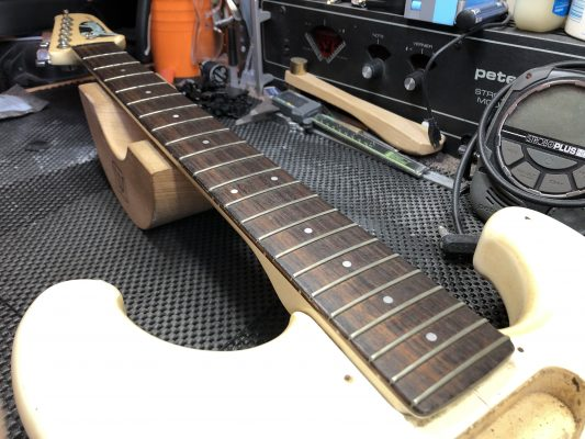 Pitted frets