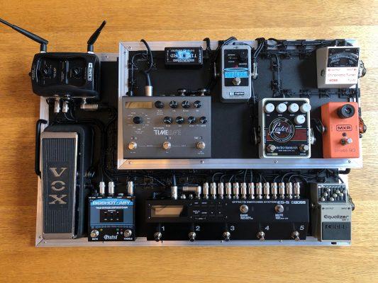 Custom pedalboard