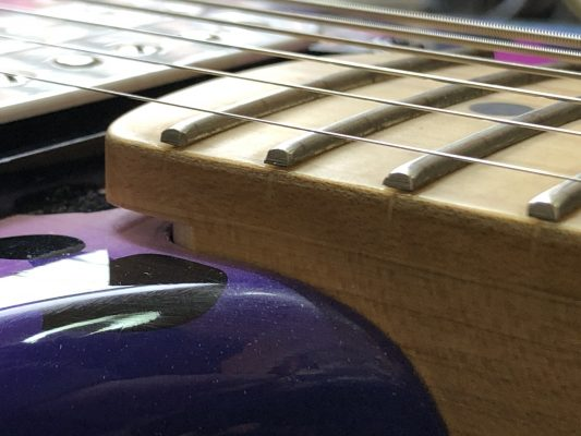Frets are lifting