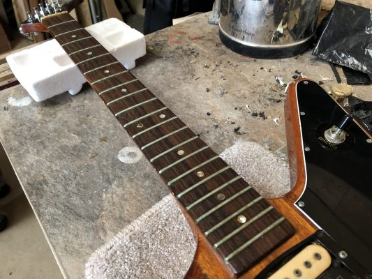 Old frets