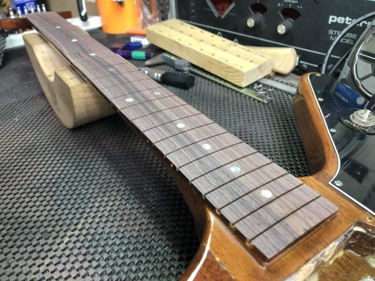 Ready for frets