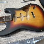 Japanese Squire Stratocaster Restoration