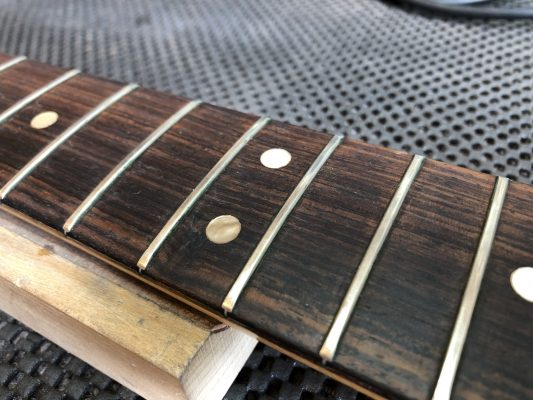 Ready to pull the frets