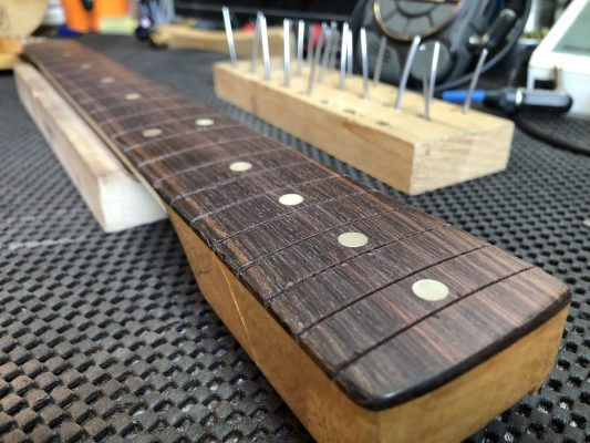 Ready for new frets