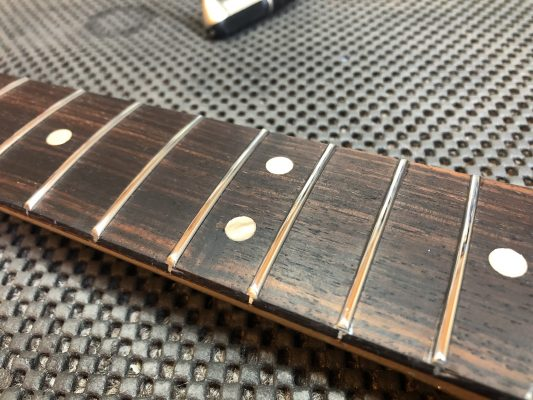 Fingerboard conditioned