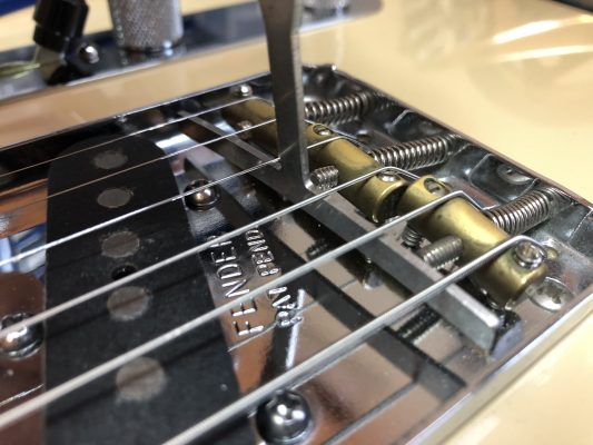Adjusting the action and intonation
