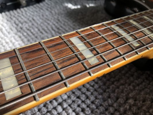 Tarnished frets