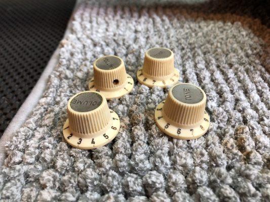Clean knobs