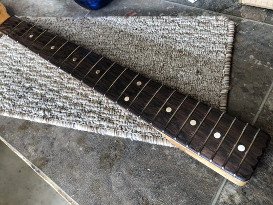 Finished re-fret