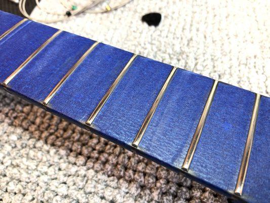Polished frets