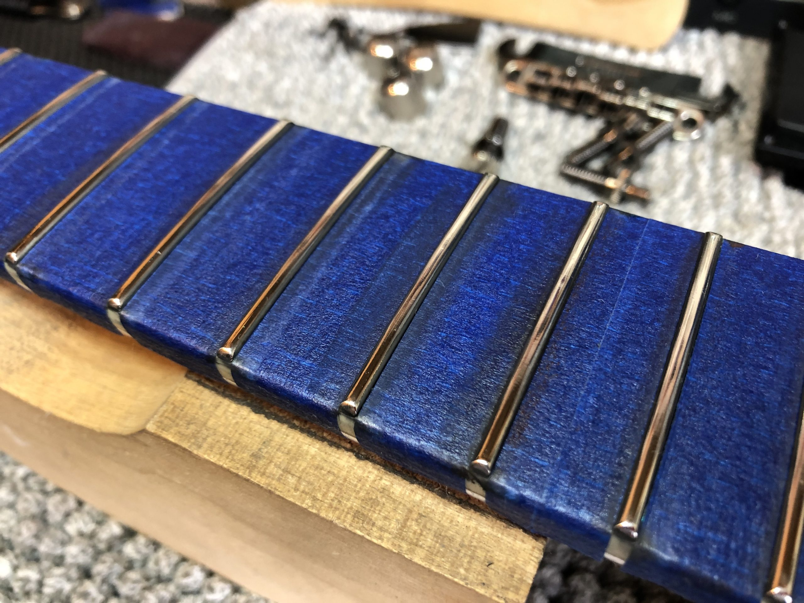 Polished frets