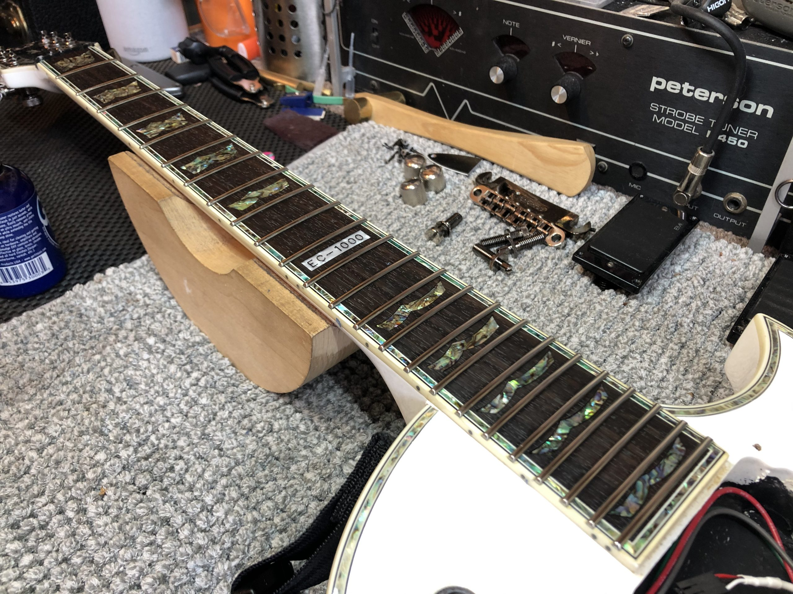 Conditioned fretboard