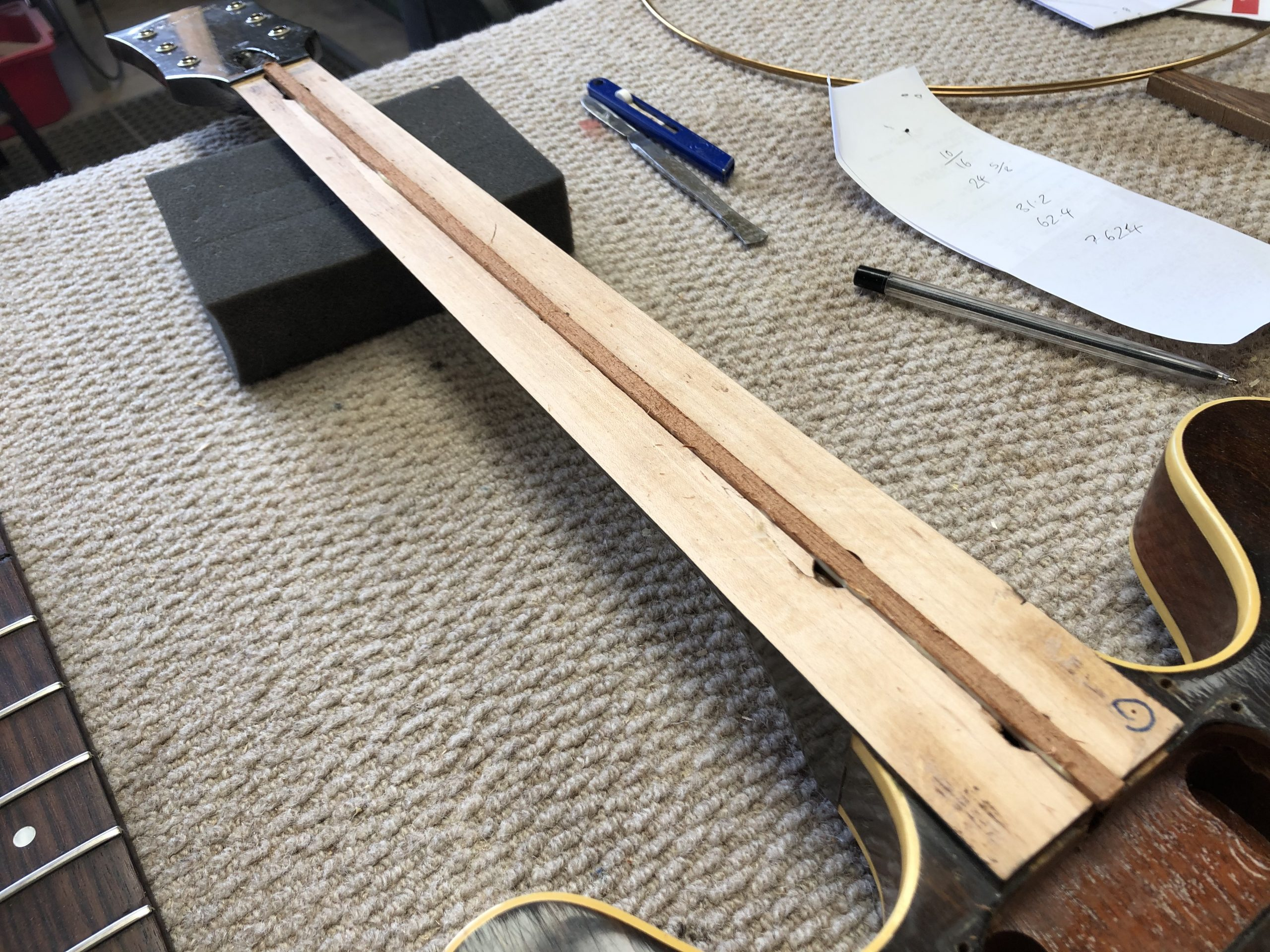 New two way truss rod
