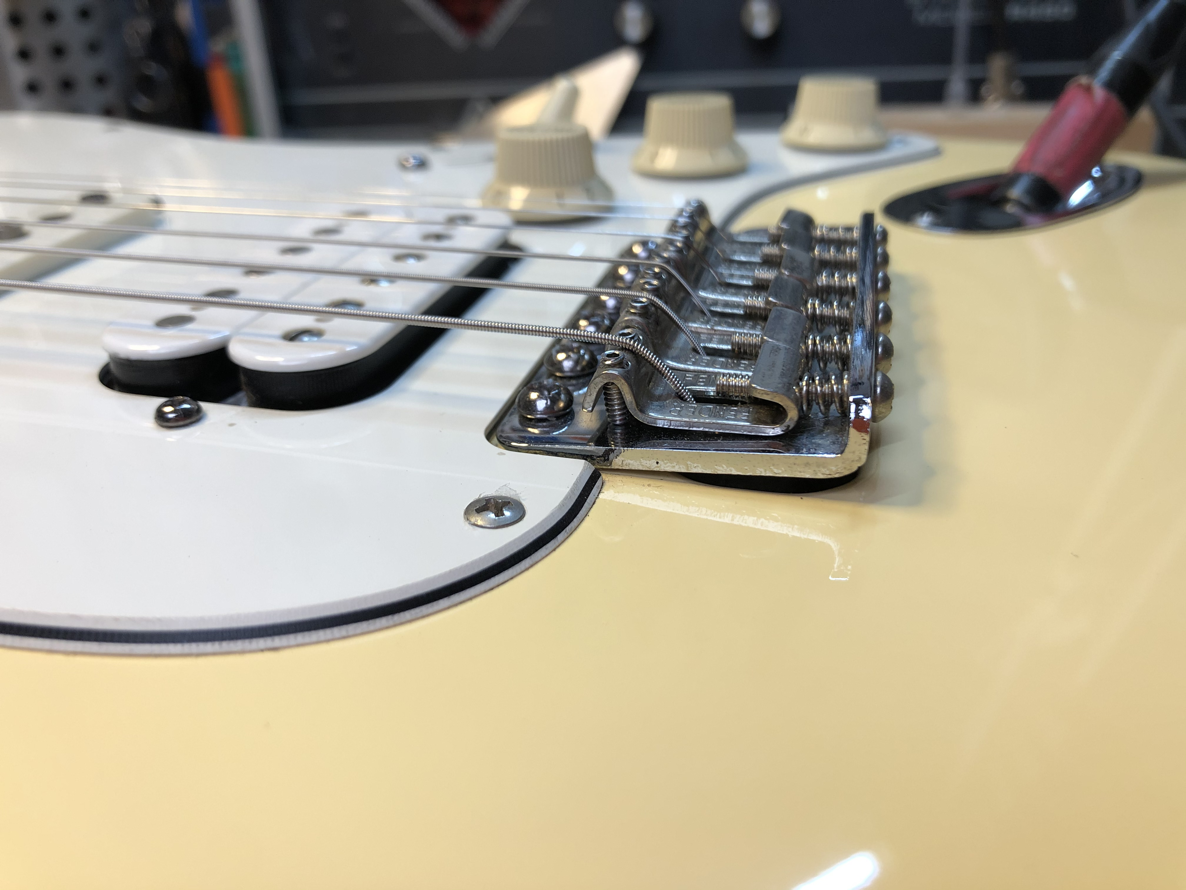 Setup on Fender Strat