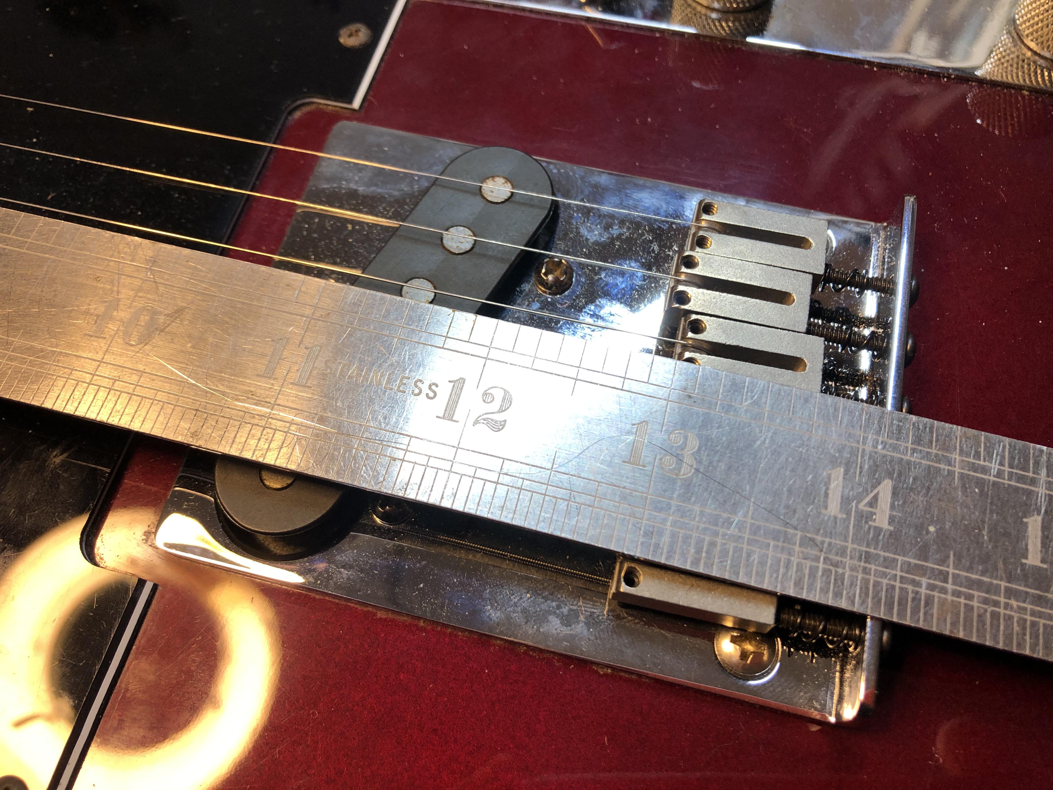 Fret Levelled Fender Telecaster