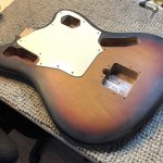 Re-finish and more on Fender Jaguar