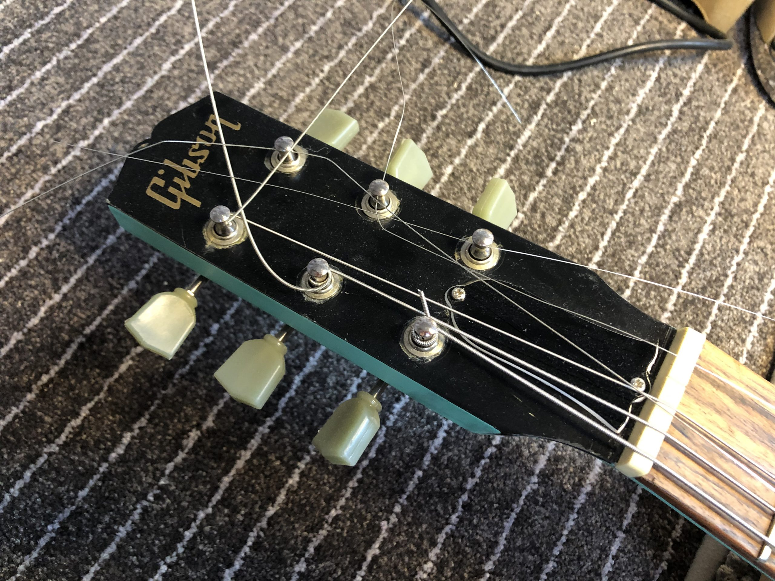 Fret Level on Gibson Melody Maker