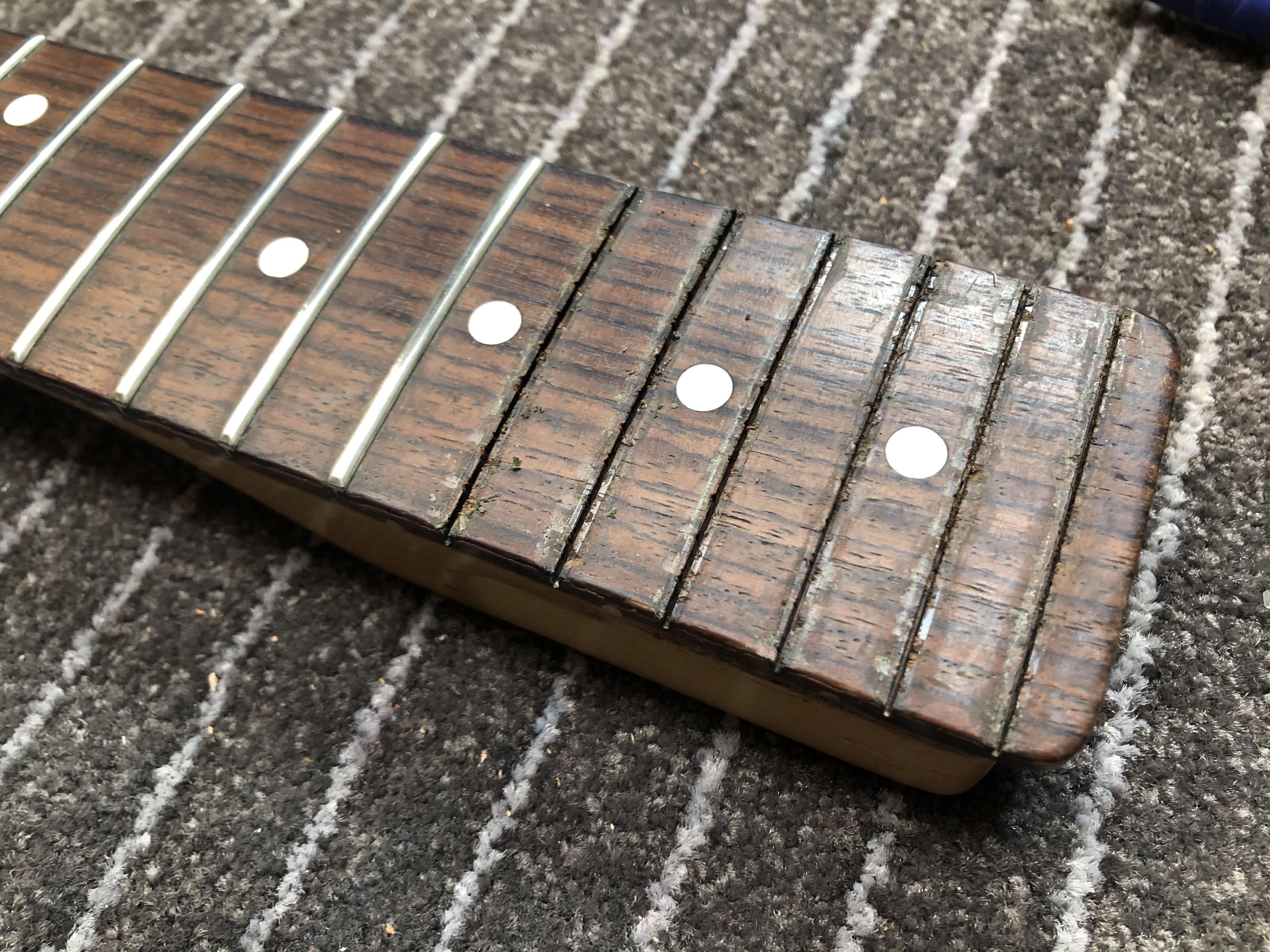 Re-fret on Fender Telecaster