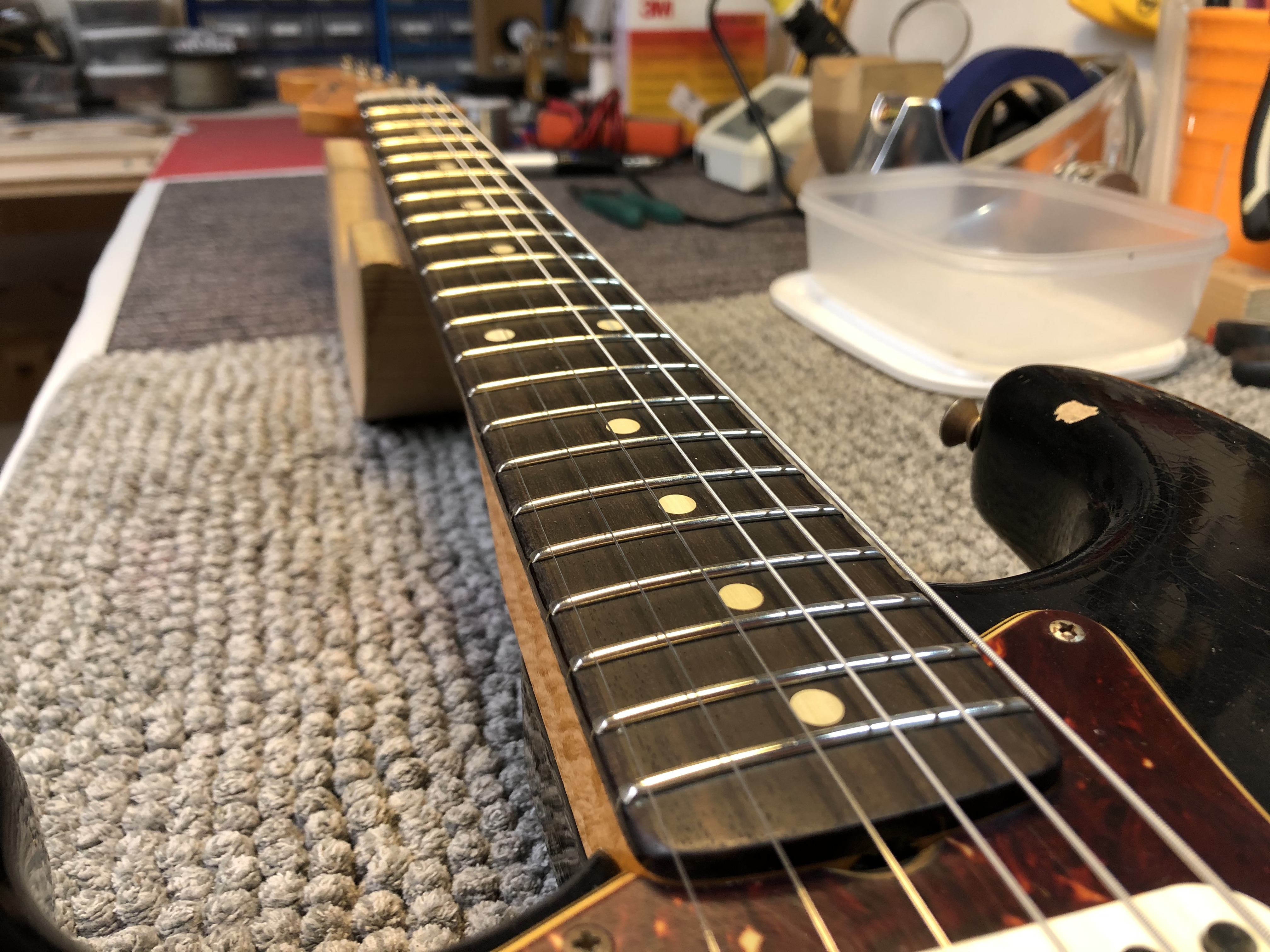 Setup on Fender Strat