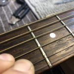 Fret Level on Norman Acoustic