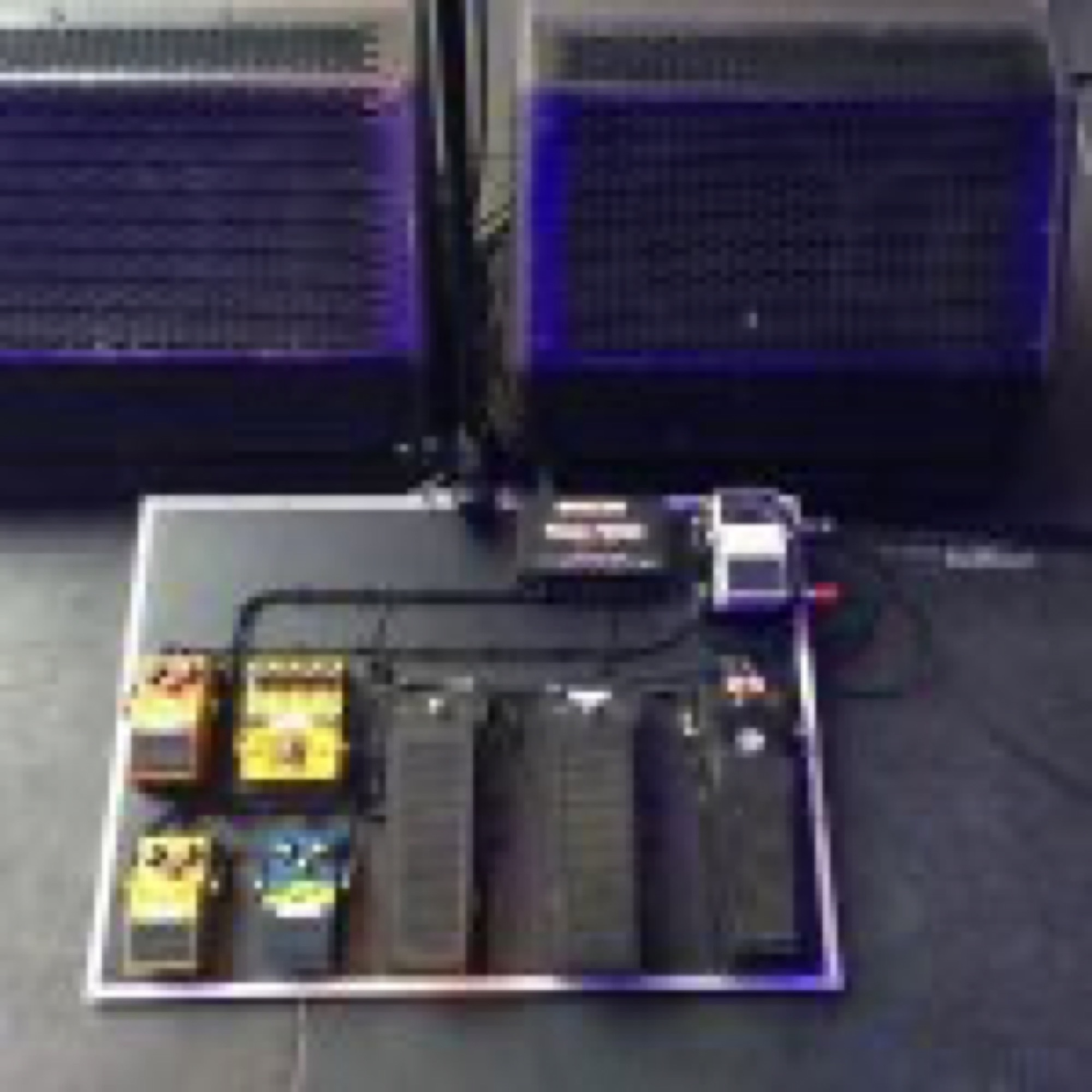 The Jesus and Mary Chain Pedalboard Rebuilds