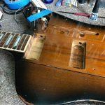 Gibson Firebird P90 Conversion