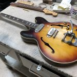1963/64 Gibson 330 re-fret - The Jesus and Mary Chain