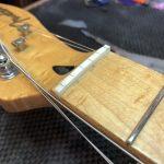 Fender Telecaster Setup plus new Bone Nut
