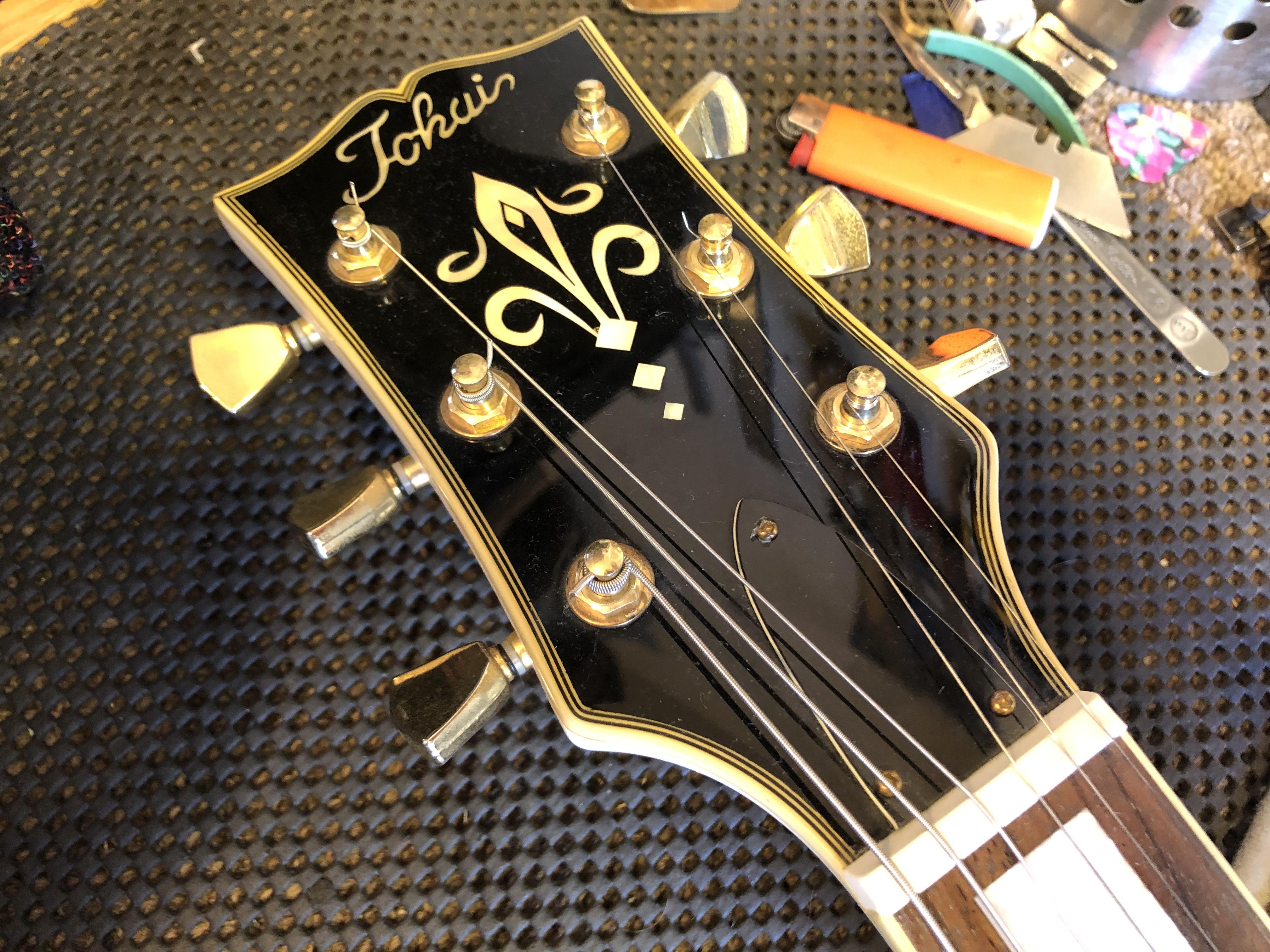 Setup on Tokai Les Paul Custom