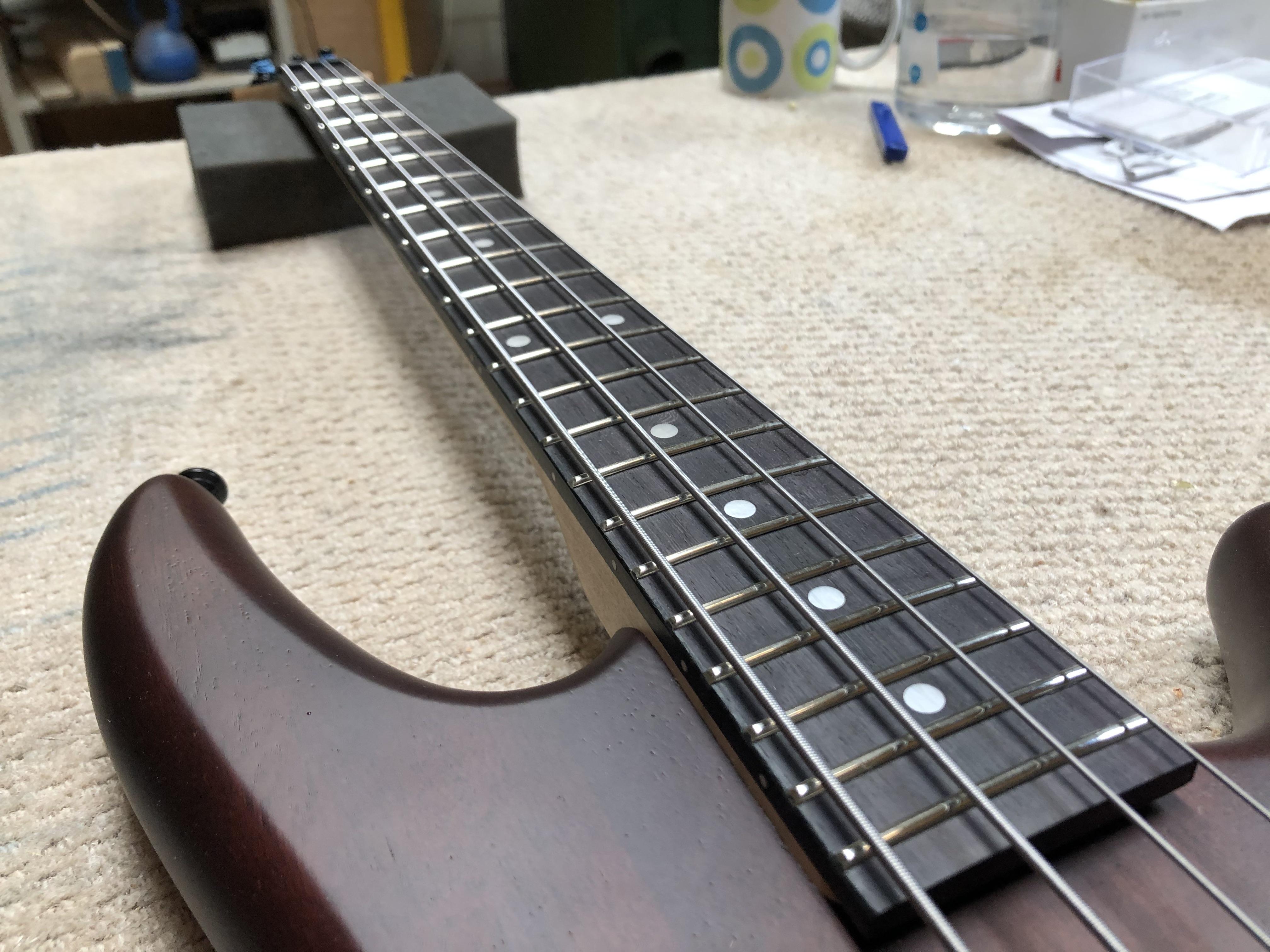Short Scale Ibanez Bass Setup
