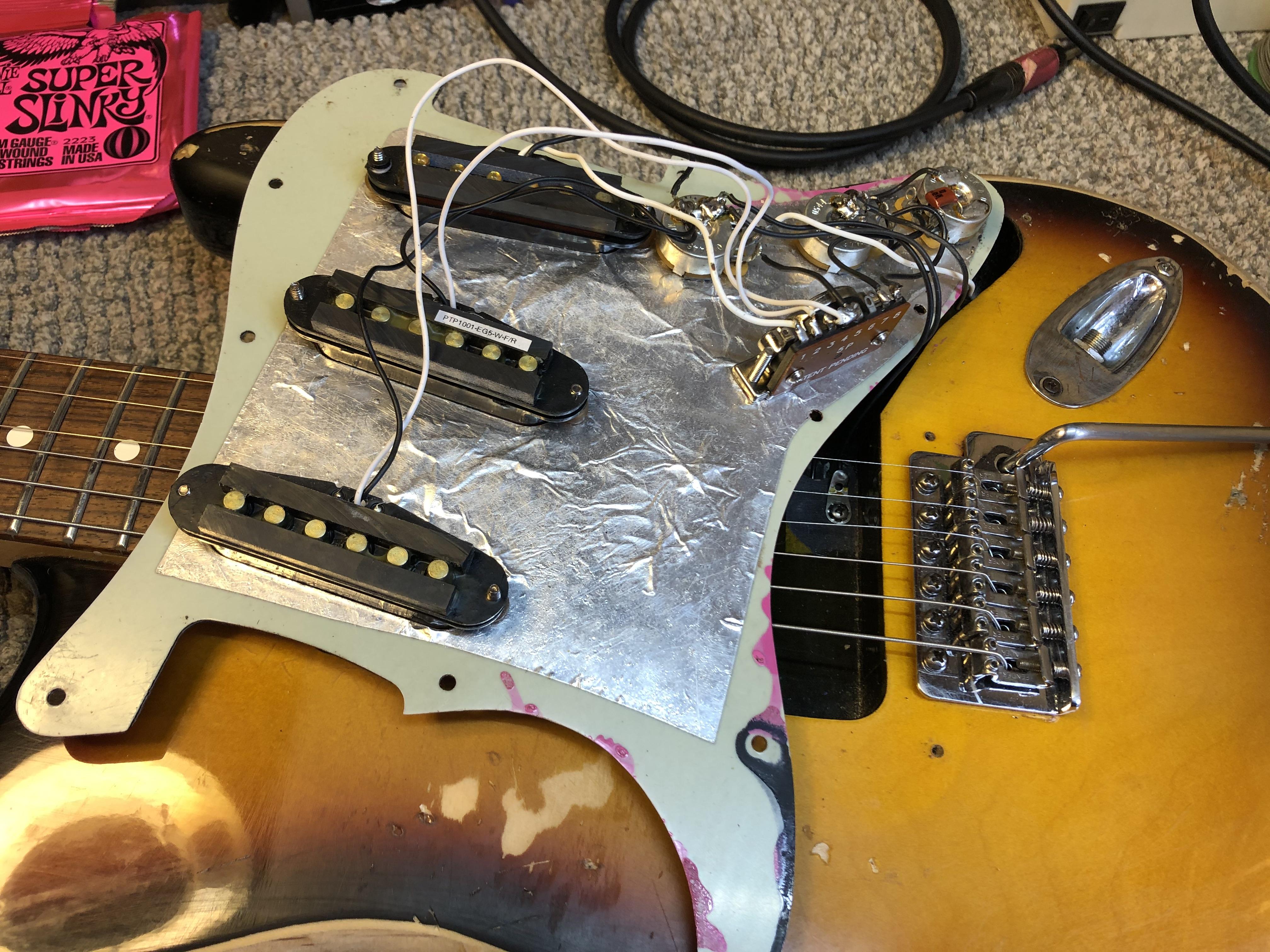 Pickup Swap on Fender Strat