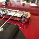 Fret Level on Vintage Les Paul Jnr Style Guitar