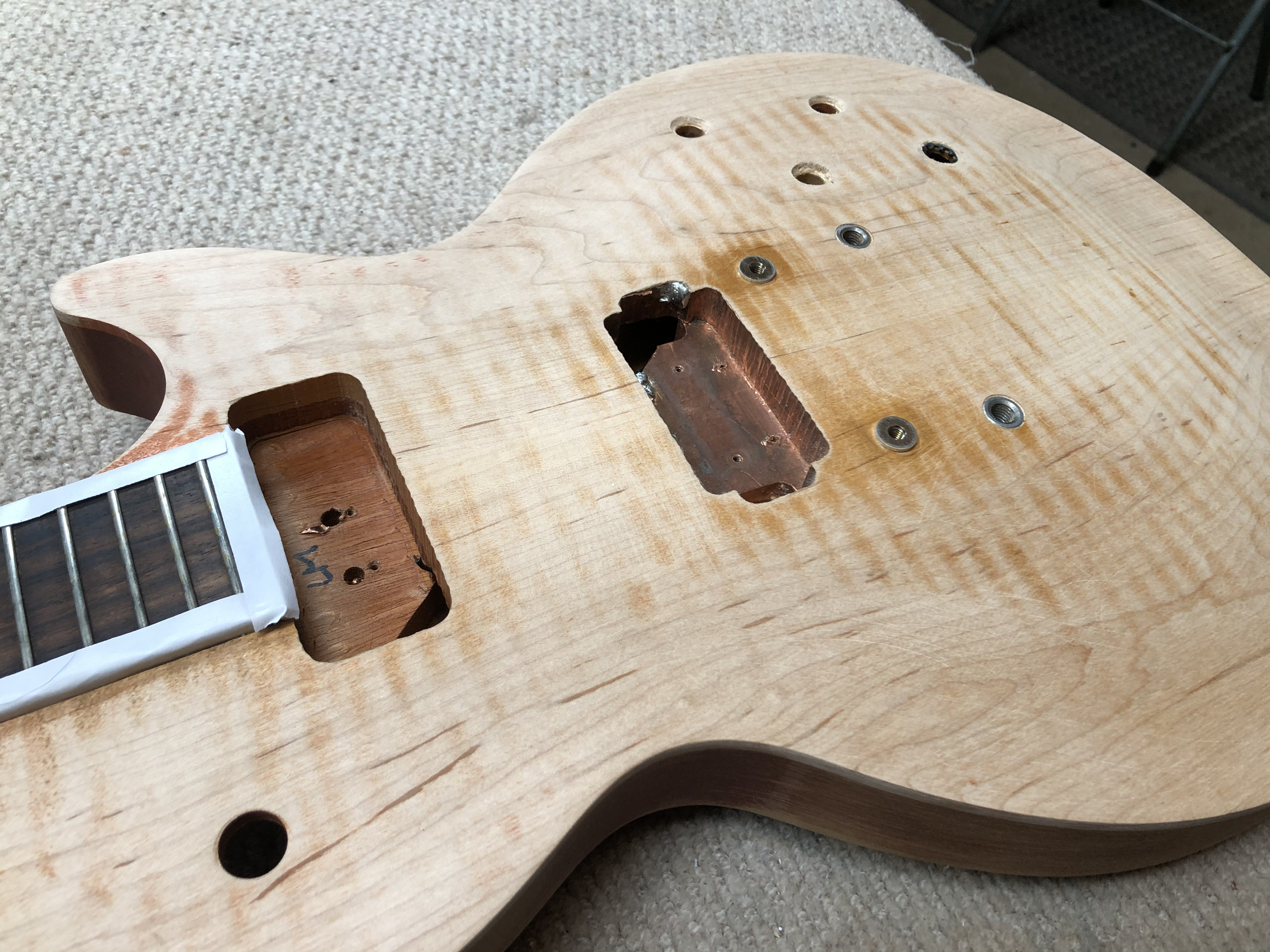 Gibson Les Paul Conversion