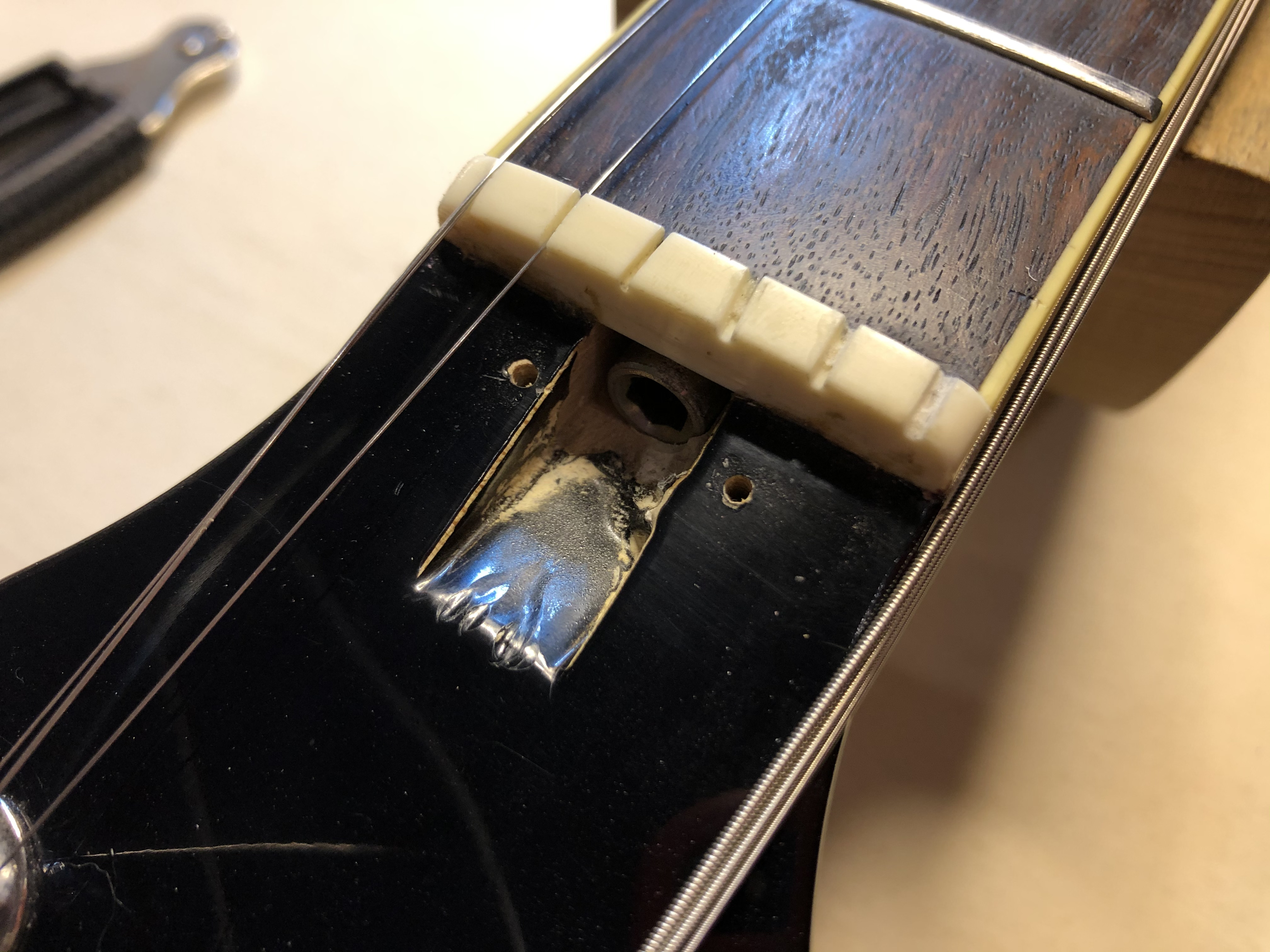 New Nut on Ibanez PF100