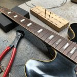 Re-fret on Gibson 330