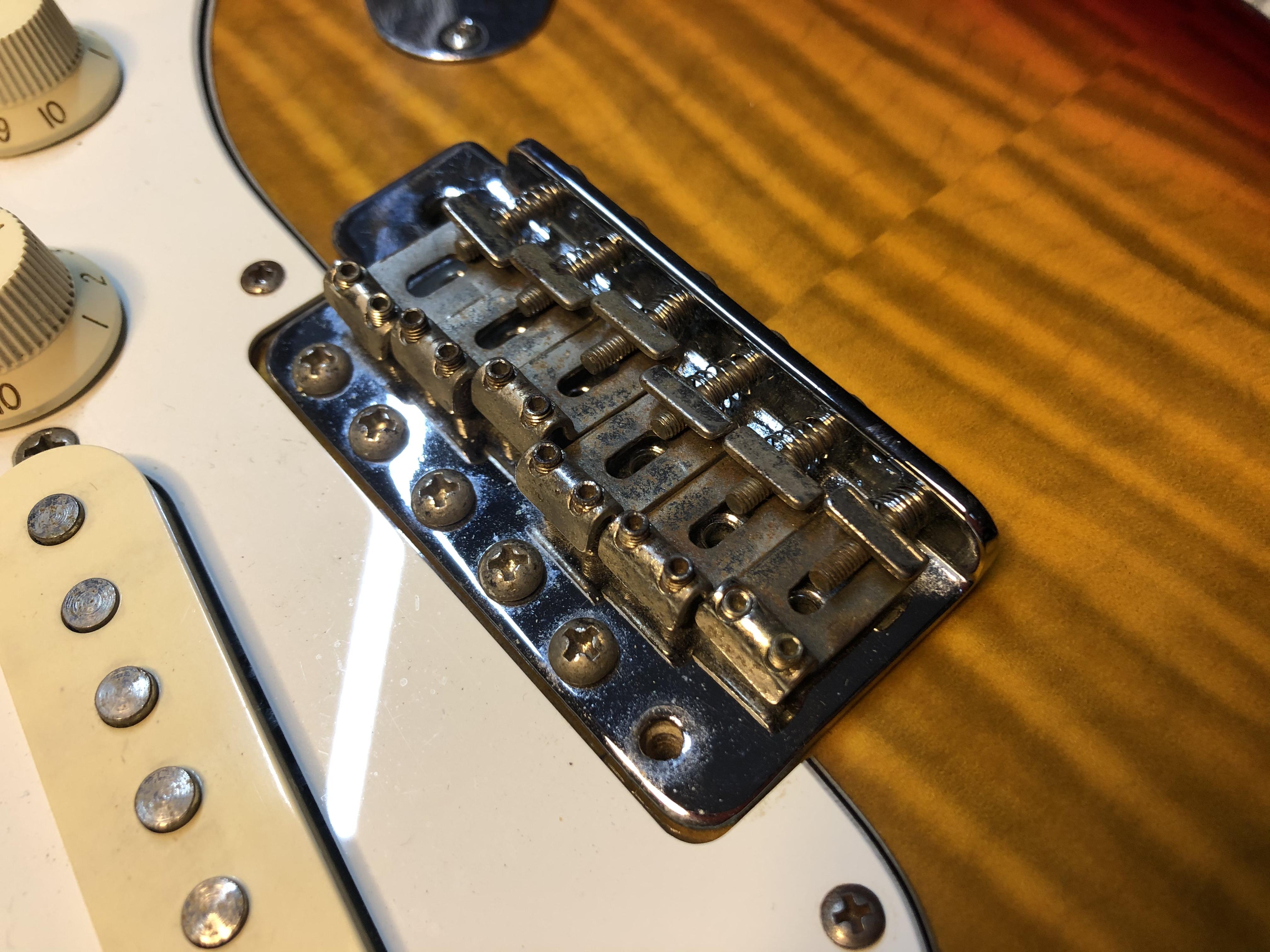 Setup on Fender Stratocaster