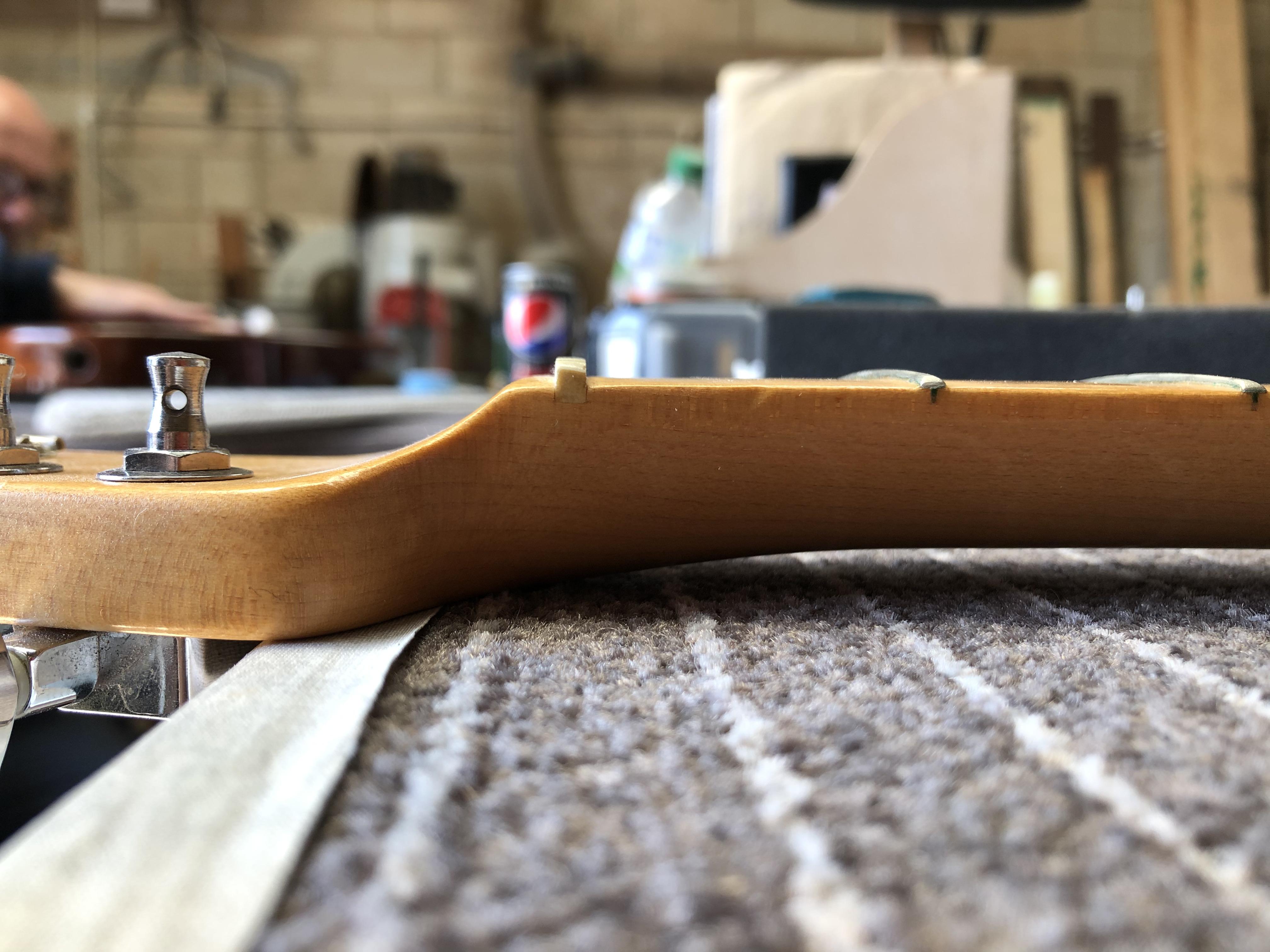 Fret Level on Fender Telecaster